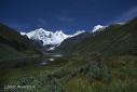 The Cordillera Huayhuash in Maravilloso Perú
