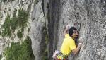Io non ho paura, nuova via d'arrampicata sullo Scoglio della Metamorfosi (Val di Mello)