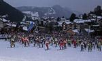 Sellaronda dei record e del popolo con gli sci