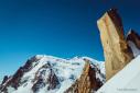 Federica Mingolla climbs Digital Crack on Mont Blanc