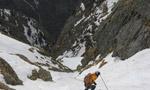 Punta Livincina (Val Masino), prima discesa con gli sci
