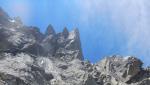 Via nuova sulla Punta La Rossa, Alpi Lepontine