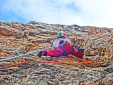 Il bianco calimero, new rock climb in Brenta Dolomites