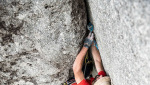 King of the Bongo on Qualido in Val di Mello climbed by Marazzi, de Zaiacomo and Schiera