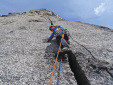 Ulamertorsuaq, Swiss attempt to free climb Piteraq in Greenland