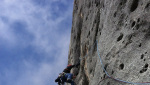 Manolo: Weg durch den Fisch, climbing the Marmolada Fish route thirty years later
