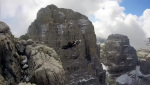 Campanile Basso: first ever Base Jump by Maurizio di Palma - the video
