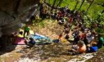 Melloblocco 2009: entra nel vivo il grande raduno internazionale di boulder in Val di Mello, Val Masino.