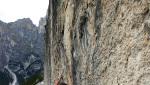 Alessandro Zeni, In Bilico sopra la Val Canali in Dolomiti