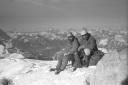 Cecoslovacchi d'inverno sul Monte Agner, il Gigante di pietra
