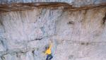 Much Mayr libera la Via degli Spagnoli sulla Cima Grande di Lavaredo