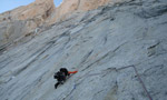 Fitz Roy Tehuelche route rare repeat by Slovenians Urban Azman and Boris Lorencic