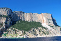 Major rockfall onto Selvaggio Blu in Sardinia