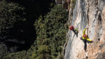 Monte Cimo: Nicola Tondini climbs three new 8a multi-pitches