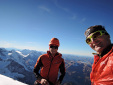 Ueli Steck and Kilian Jornet Burgada climb Eiger North Face