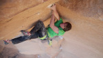 Escalante Canyon climbing with Mayan Smith-Gobat and Ben Rueck
