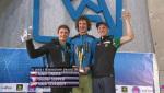 Adam Ondra and Mina Markovic win Lead World Cup 2015 in Kranj