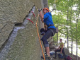 Cadarese trad: 10 vie d'arrampicata in fessura in Val d'Ossola