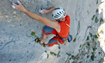 Umbras, Punta Cusidore: Sardina loves climbing