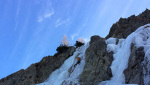 Valle Stura di Demonte, cascate di ghiaccio in Piemonte