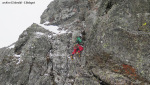Vallaccia Corta, nuova via sul Monte Foscagno per Meraldi e Bedognè