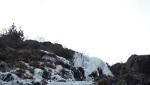 Couloir del Cimino, cascata di ghiaccio in Valle della Pietra (SO)