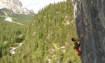 Rio Gere, arrampicare a Cortina