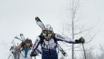 Tris Rotondo, a stormy ski mountaineering success