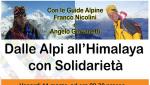Dalle Alpi all'Himalaya con solidarietà, venerdì la serata a Trento