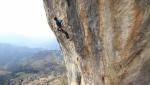 Stefano Carnati climbs Cornalba's Goldrake 9a+