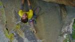 Michele Amadio, l'arrampicata, la Valle dell'Orco e la linea pura