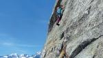 Delta Minox in Val Masino climbed by Federica Mingolla, Luca Schiera and Andrea Gaddi