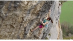 Anak Verhoeven frees Ma belle ma muse 8c+ at Romeyer in France