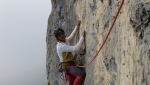 Pace in Siria on Dain di Pietramurata, new rock climb in Italy's Sarca valley