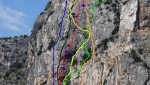Monte Colodri, nuova via d'arrampicata ad Arco