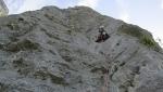 Rocca Busambra... in Sicilia una nuova via d'arrampicata ed un pilastro per Maurizio Lo Dico
