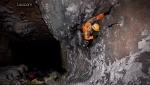 Alpinism and caving: underground ice climbing at Brezno pod Velbom