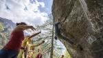 Melloblocco 2016 - day 2. Social climbing