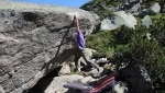Silvretta bouldering in Tyrol, Austria