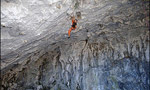 Stevie Haston frees Descente Lolitta 9a