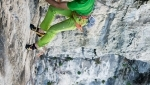 Horror Vacui, new multi-pitch rock climb up Monte Cimo by Rolando Larcher