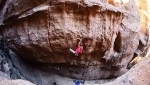 Pirmin Bertle proposes 9a testpiece in Piedra Parada, Patagonia