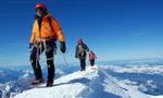 In vetta al Monte Bianco a meno di un anno da un infarto