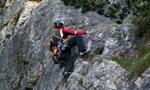 Nuova via sull'altopiano del Grostè, Dolomiti del Brenta