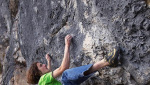 Adam Ondra, Fugu 9a at the Schleierwasserfall, Austria