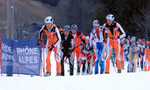 Pierra Menta 2007 Ist stage - the results
