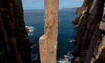 Totem Pole Tasmania, via originale salita in libera