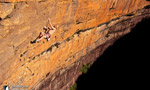 Arrampicare in Australia alle Diamond Falls