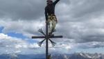 Urko Carmona Barandiaran sulla Cima Grande di Lavaredo in Dolomiti
