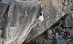 Rocklands bouldering, Kilian Fischhuber flies Airstar